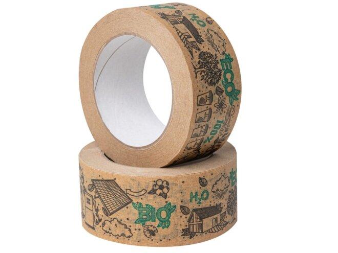 taśma pakowa papierowa z nadrukiem